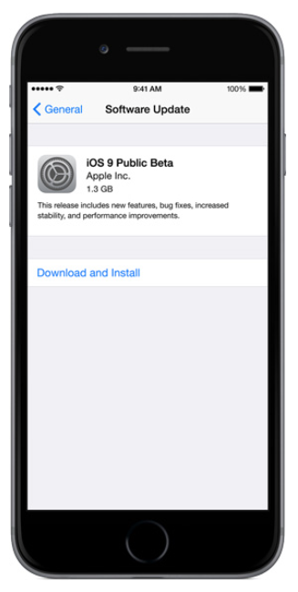 manually download updates for iphone