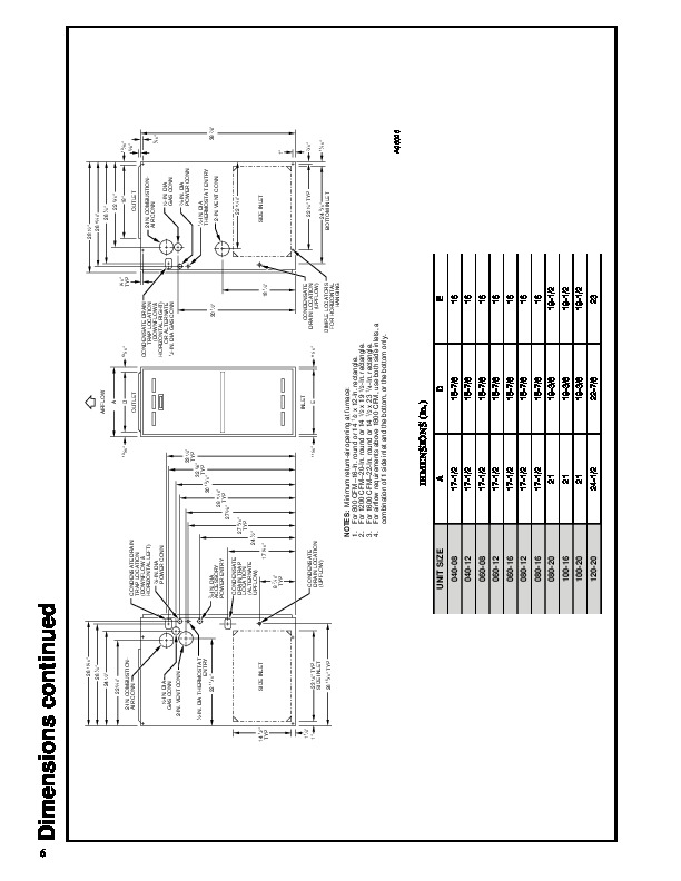 carrier model fb4cnp025 owners manual