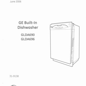 ge model psc25psw technical service manual