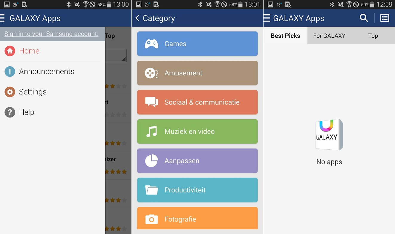 manual update apps android samsung